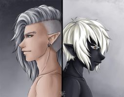Do Not Forget Me by Project-Drow