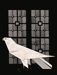 The White Falcon by Skia