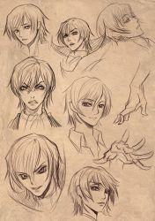 Lelouch doodle by zhiuy0525