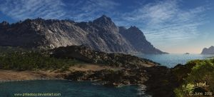 Test - Procedural Vue terrain by Chromattix