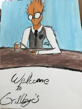 Welcome to Grillby's by SuperWonder64