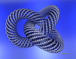 Twisted Torus sweep-01 by fractalyst
