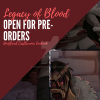 Legacy of Blood - Castlevania Fanbook Preview