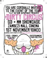 TUT dirty circus poster by BrentBlack