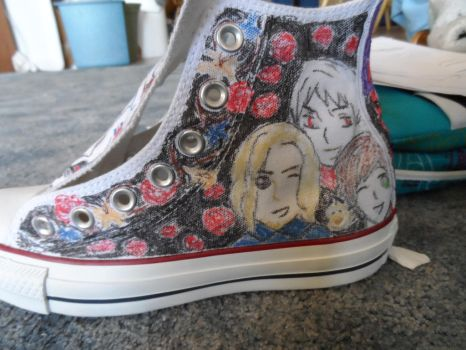 Hetalia Chucks 5 by EmilyTrancy