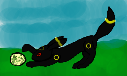 Umbreon and the Egg by Tobi2x4