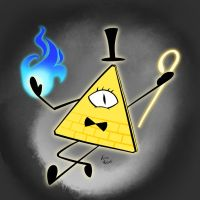 Bill Cipher by Xain-Russell