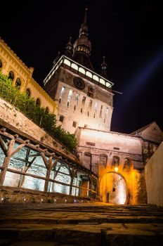 Sighisoara - The Clock Tower by HghlnDR
