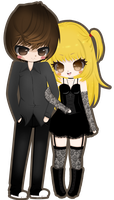 Misa And Light -C- by Miielle