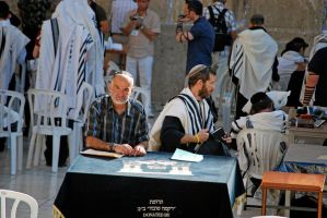 Donated by at the Western Wall by dpt56