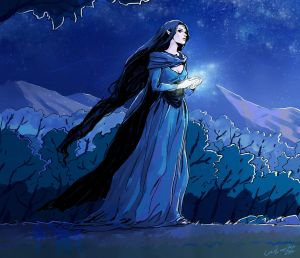Luthien Tinuviel by Cocoz42