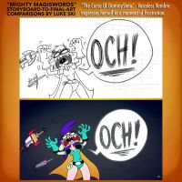 Mighty MagiSwords Storyboards - Och drawing by artbylukeski