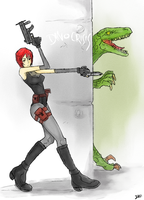 Dino Crisis by Sit-by-Me-and-sea