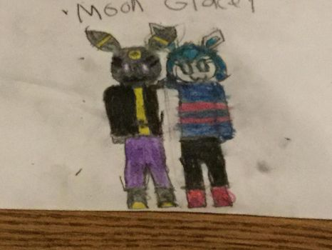 Moon and Glacey by Chase-Da-Umbreon