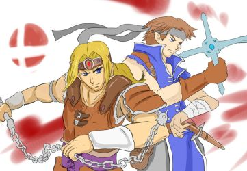 Belmont in Smash by Diusym