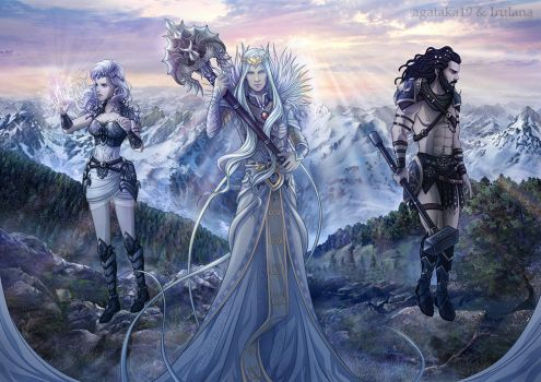 When Gods Walked the Earth by Irulana