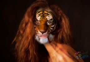 Mujer Tigre by NUBES112