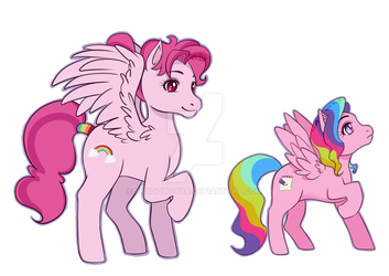 Background Ponies by Shadowstar