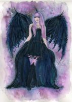 Dark wing angel by Fairylover17