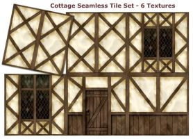 Cottage by Day by SpiralGraphic