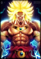 Legendary Saiyan Broly by Xelgot