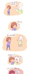 Another UNDERTALE comic about puns and flirting by GREATLORDHELIX