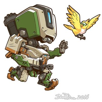 Cute But Deadly Bastion by NorseChowder