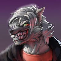 FaogWolf Halloween werewolf icon by faogwolf