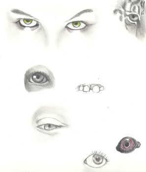 eyes by The-Bleached-Dalsuta