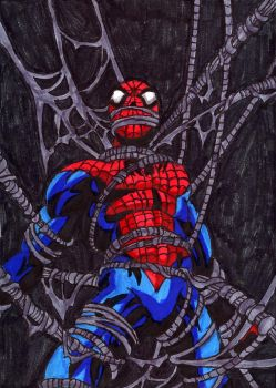 Spider-Man Trapped by ChahlesXavier