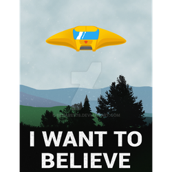 I Want To Bumble Believe (Poster 50x70 cm) by Benares78