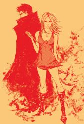 BUFFY AND ANGEL by aaronminier