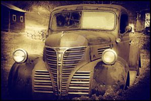 Old Forgotten Plymouth by Theriom-Rasputin