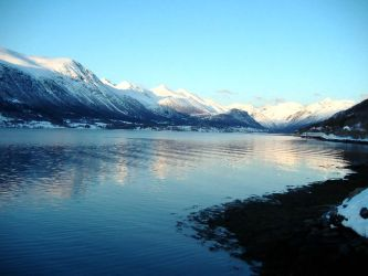Mountains, Snow, Sea - 3-2010 by disturbed-angel