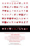 St. Valentine's Icon Pack by TheGalleryOfEve by TheGalleryOfEve