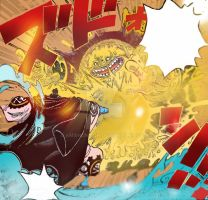 One Piece Chapter 851+ Jinbei  OPERA Justice fist! by Amanomoon