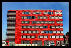 Red House In Berlin by skarzynscy