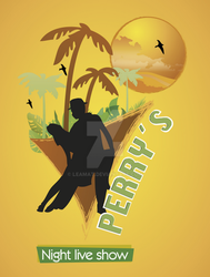 Logo for Perrys night live show by Leamat