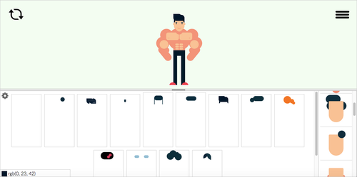 Flat Design Character Maker by michaelsboost