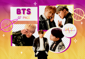 PNG PACK: BTS #32 by Hallyumi
