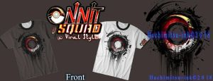 Viral style advert - Team Onnit Shirt by hachimitsu-ink