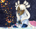 Secret Stars Exchange: Sailor Coma Berenices by Jyinxe