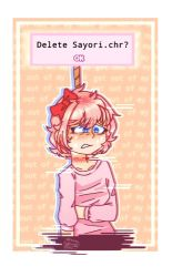 sayori- doki doki literature club  by rainbow223