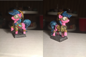 Pink Alchemist Pony Table-Top Miniature by NPCtendo