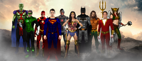 my new Justice league by GOTHAMKNIGHT99
