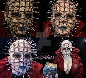 Hell raiser Inspired spfx makeup by samanthawpgcom by VisualEyeCandy