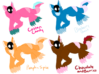 Adoptable Zasanees - Common - CLOSED by ForsakenHowl5683