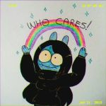 who cares lol by aesthetic-loser