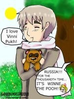 APH Russia and Vinni Puhk by lonewolfjc11
