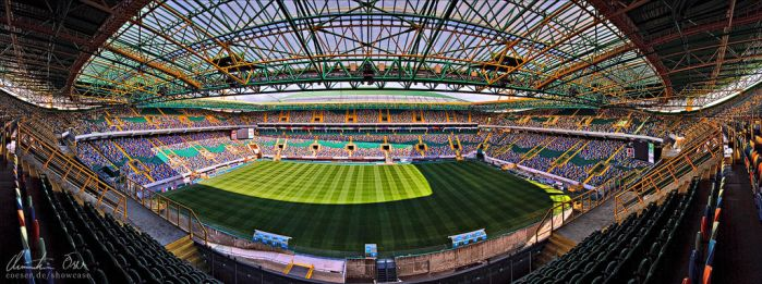 Jose Alvalade Stadium Lisbon by Nightline